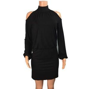 INC international concept cold shoulder dress
